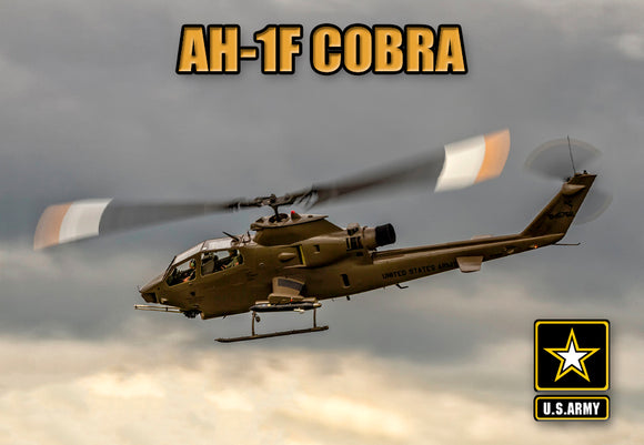 AH-1F Cobra US Army (PMW12013)