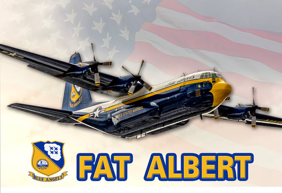 Fat Albert Blue Angels (PMW12019)