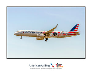 American Airlines Airbus A-321 Stand Up to Cancer (TA043LAJM11X14)