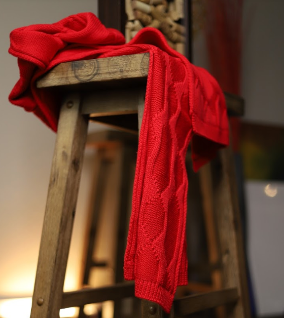 Valentine's Day Gift Guide: Red Merino Wool Scarf