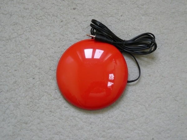 Large Red Dome Button Switch
