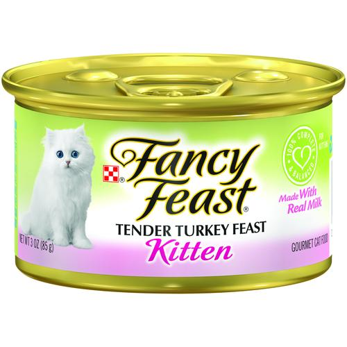 PURINA FANCY FEAST Kitten Turkey Wet Cat Food