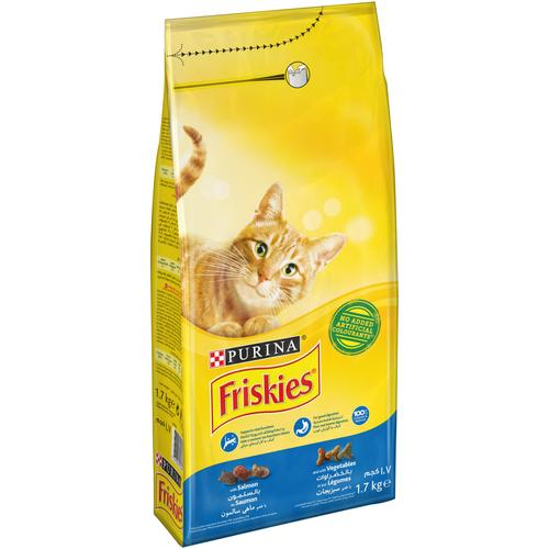 Purina Friskies with Salmon and Vegetables cat Dry food