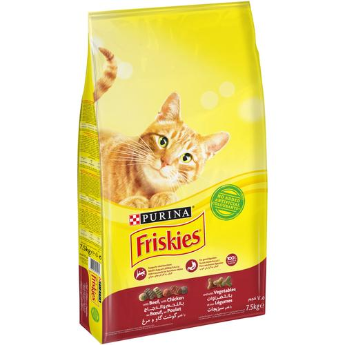 Purina Friskies with Beef, Chicken and Vegetables Cat Dry Food