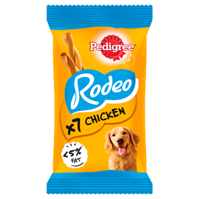 PEDIGREE® Rodeo Chicken 123g