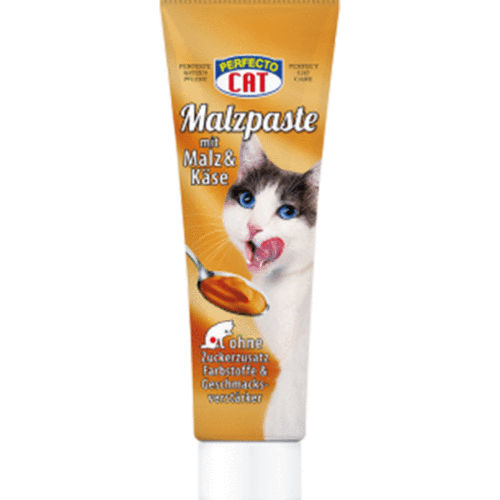 Perfecto Cat Malt Paste with Cheese and Malt 100g