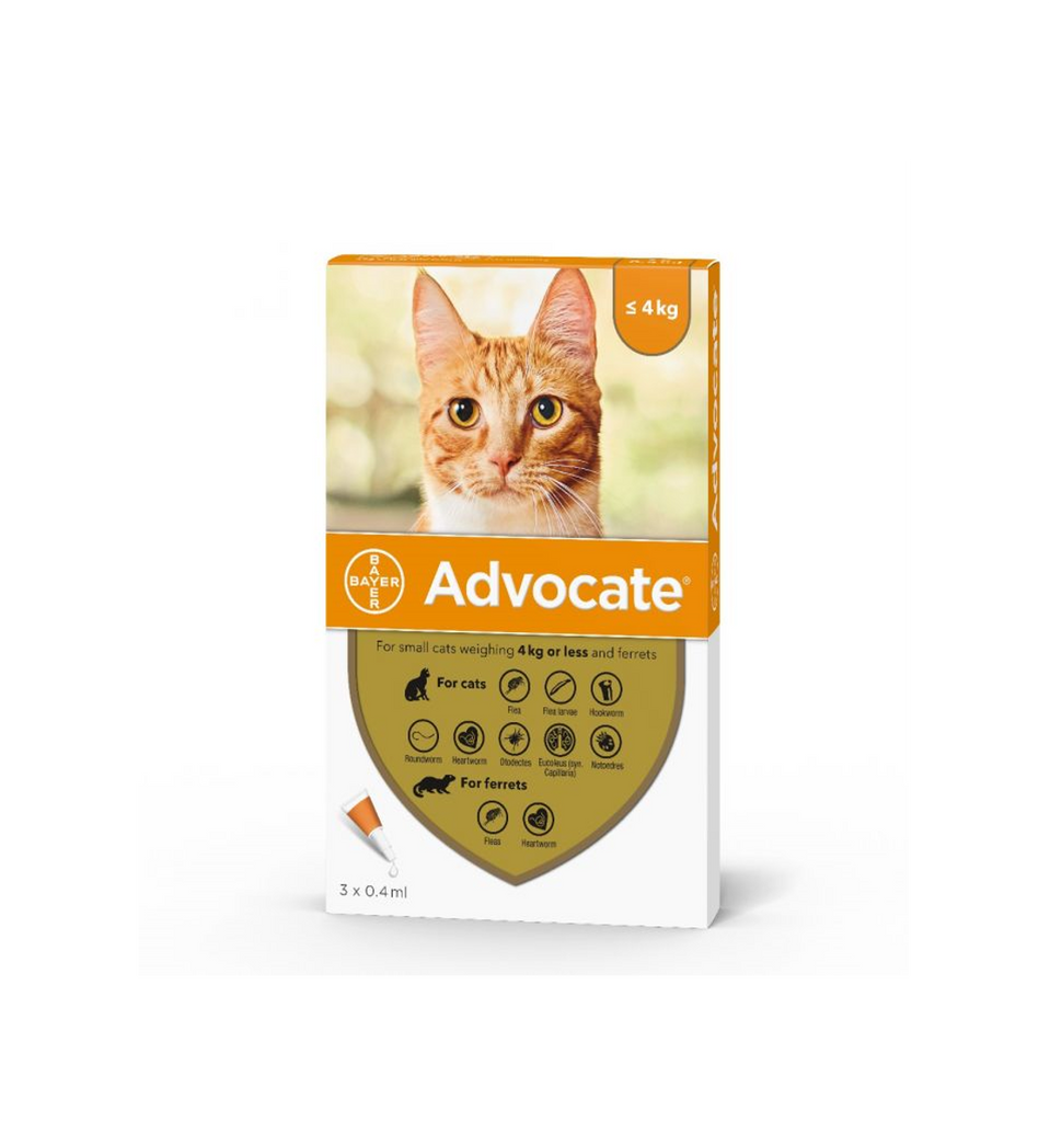 Advocate cat up to 4kg