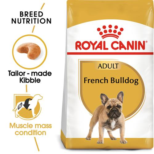 Royal Canin French Bulldog Adult (3 KG)- Dry food for adult dogs over 12 months