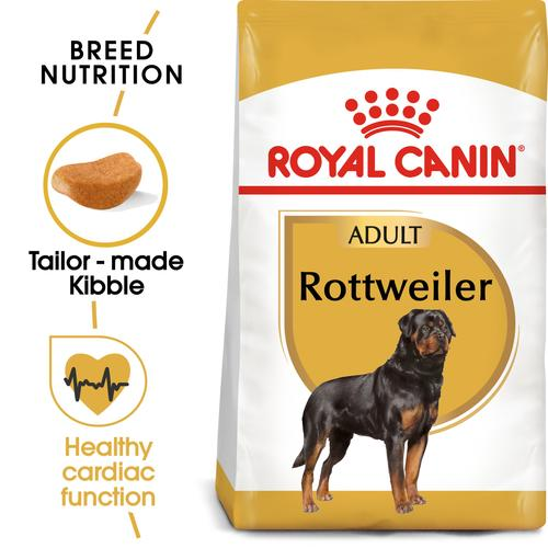 Royal Canin Rottweiler Adult - Dry food for adult dogs over 18 months