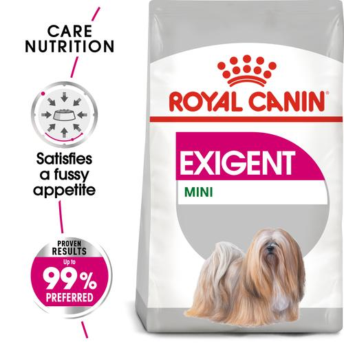 Royal Canin Mini Exigent - Dry food for small dogs up to 10 KG with fussy appetite. Over 10 months