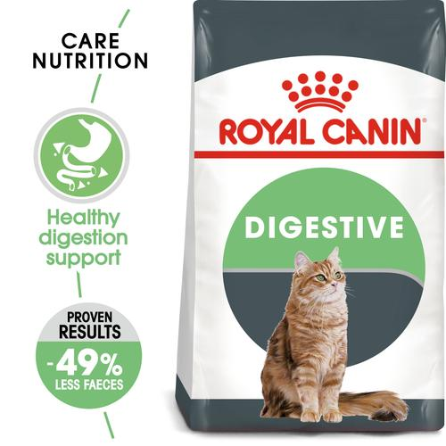Royal Canin -Digestive care Dry food - Adult cats- help support healthy digestion