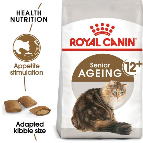 Royal Canin Ageing +12 for Senior cats over 12 years old