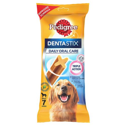 Pedigree Dentastix - Daily Oral Care - 7 Sticks - Large 25+kg