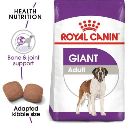 Royal Canin Giant Adult - Dry food for giant active dogs. Adult weight from 45 kg and over - over 18\24 months