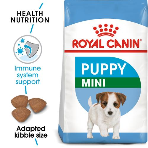 Royal Canin Mini Puppy - Dry food for small dogs - Adult weight up to 10 KG From 2 to 10 months old
