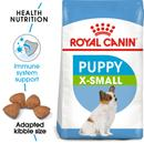 Royal Canin X-Small Puppy - Dry food for very small dogs - Adult weight up to 4 KG. Up to 10 months