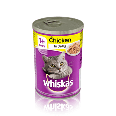 WHISKAS® 1+ Can with Chicken in Jelly