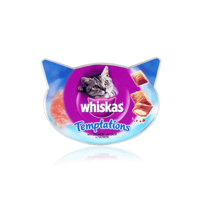 WHISKAS® Temptations Cat Treats with Salmon 60g