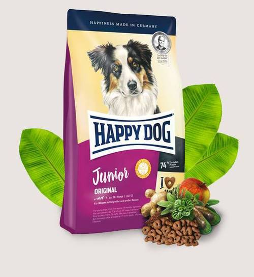 Happy Dog Junior Original - Dry dog food for puppies