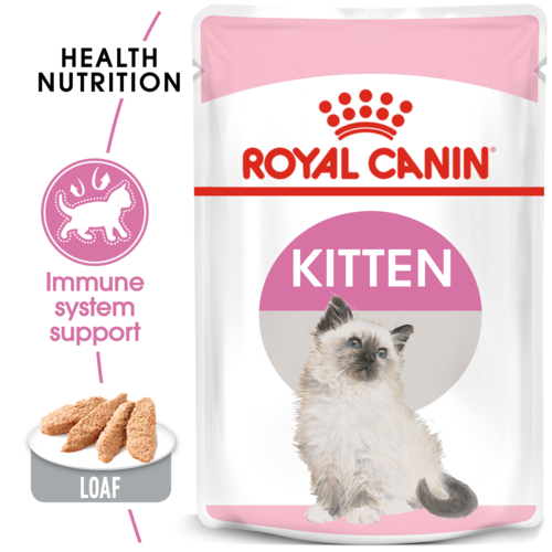 Royal Canin Kitten In Loaf - wet food for kittens up to 12 months