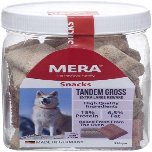Mera Tandem Gross Biscuits & Crunchy Treats For Dogs 350 Grams