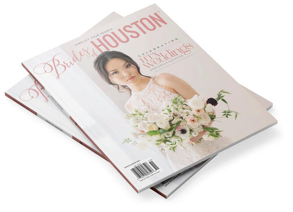 2020 Spring/Summer Brides of Houston Magazine