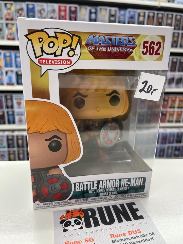 FUNKO POP! Figur - MASTERS OF THE UNIVERSE - 562 - BATTLE ARMOR HE-MAN