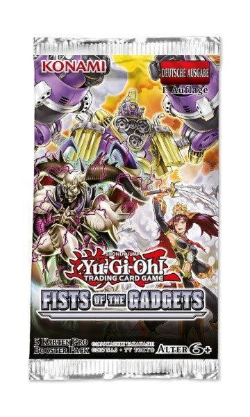 Yu-Gi-Oh! Booster Fists of the Gadgets