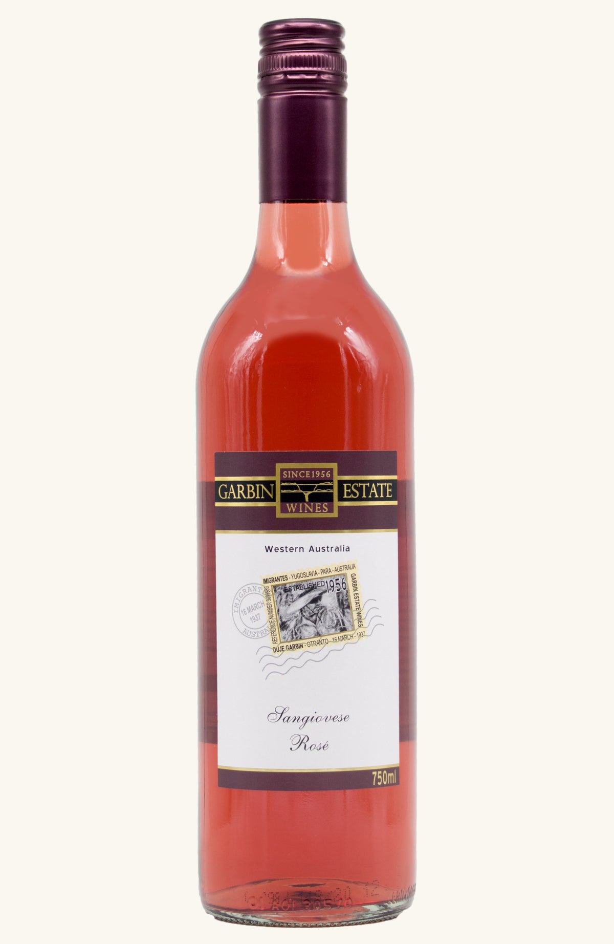 2020 Sangiovese Rose Garbin Estate Wines