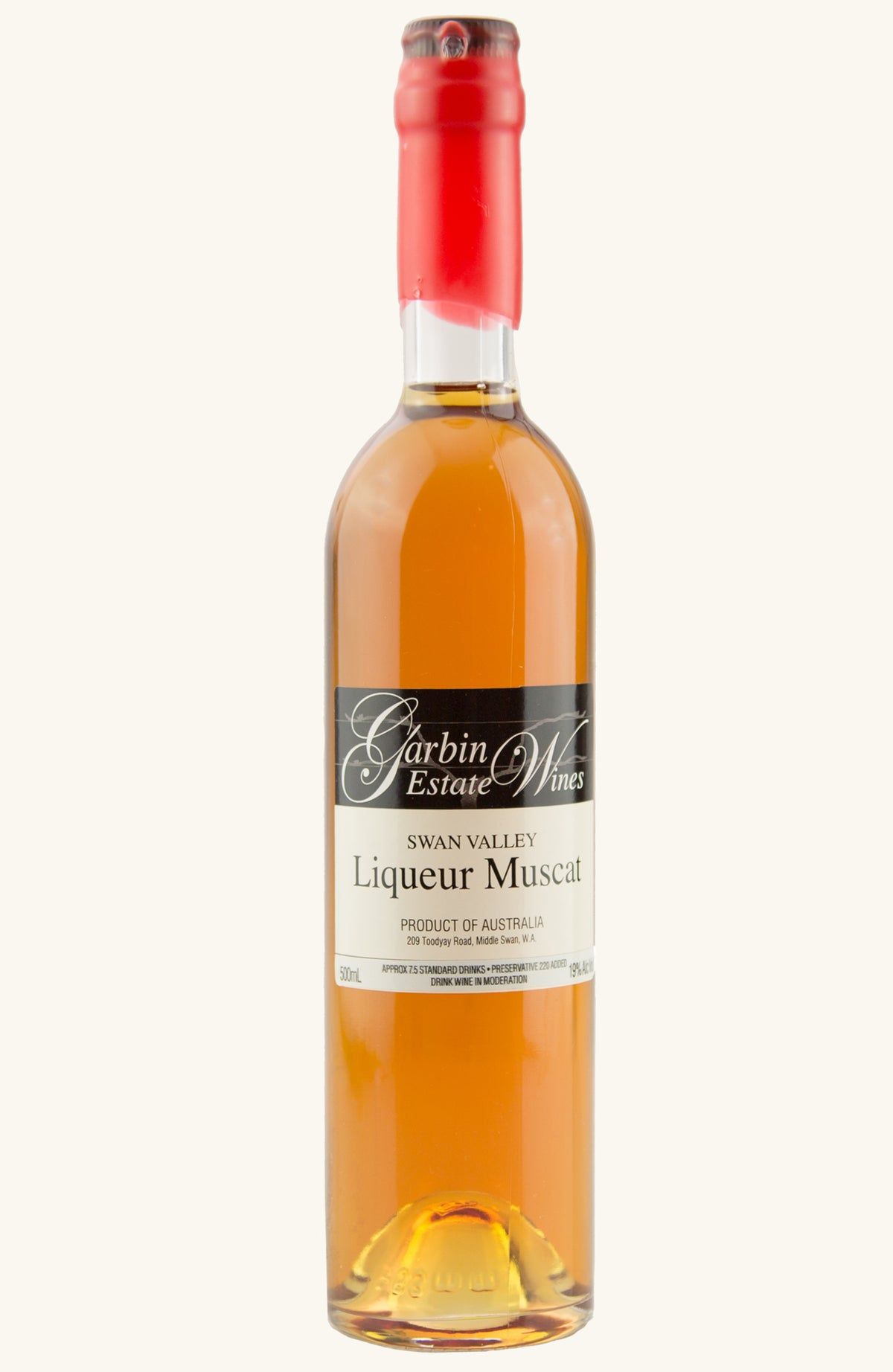 Garbin Estate Wines Liqueur Muscat