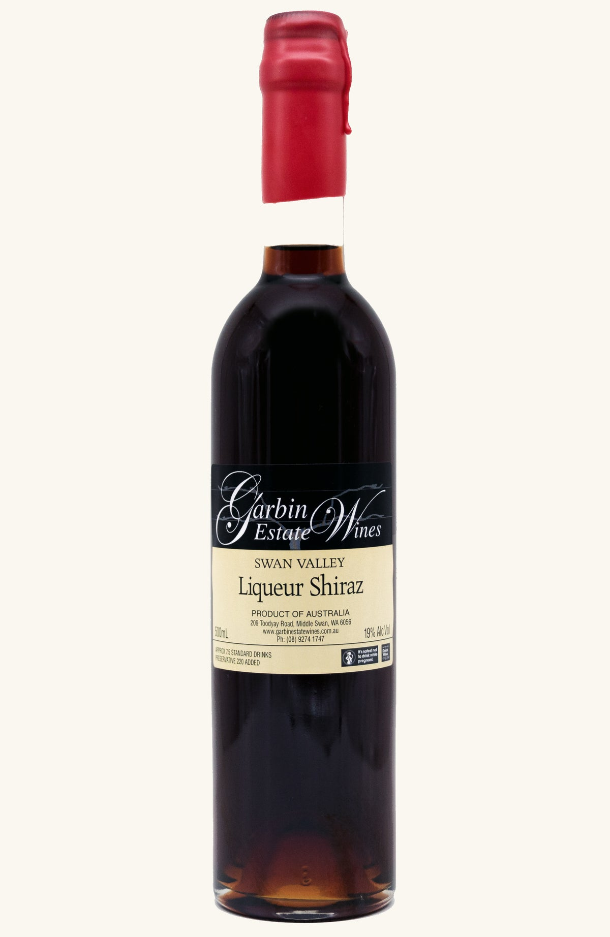 Garbin Estate Wines Liqueur Shiraz