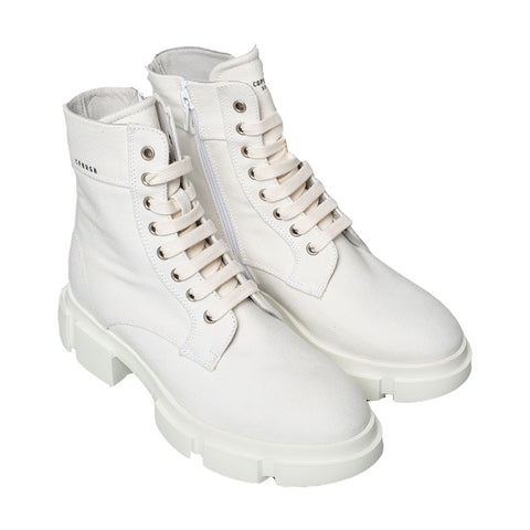 CANVAS BOOTS, WHITE - COPENHAGEN
