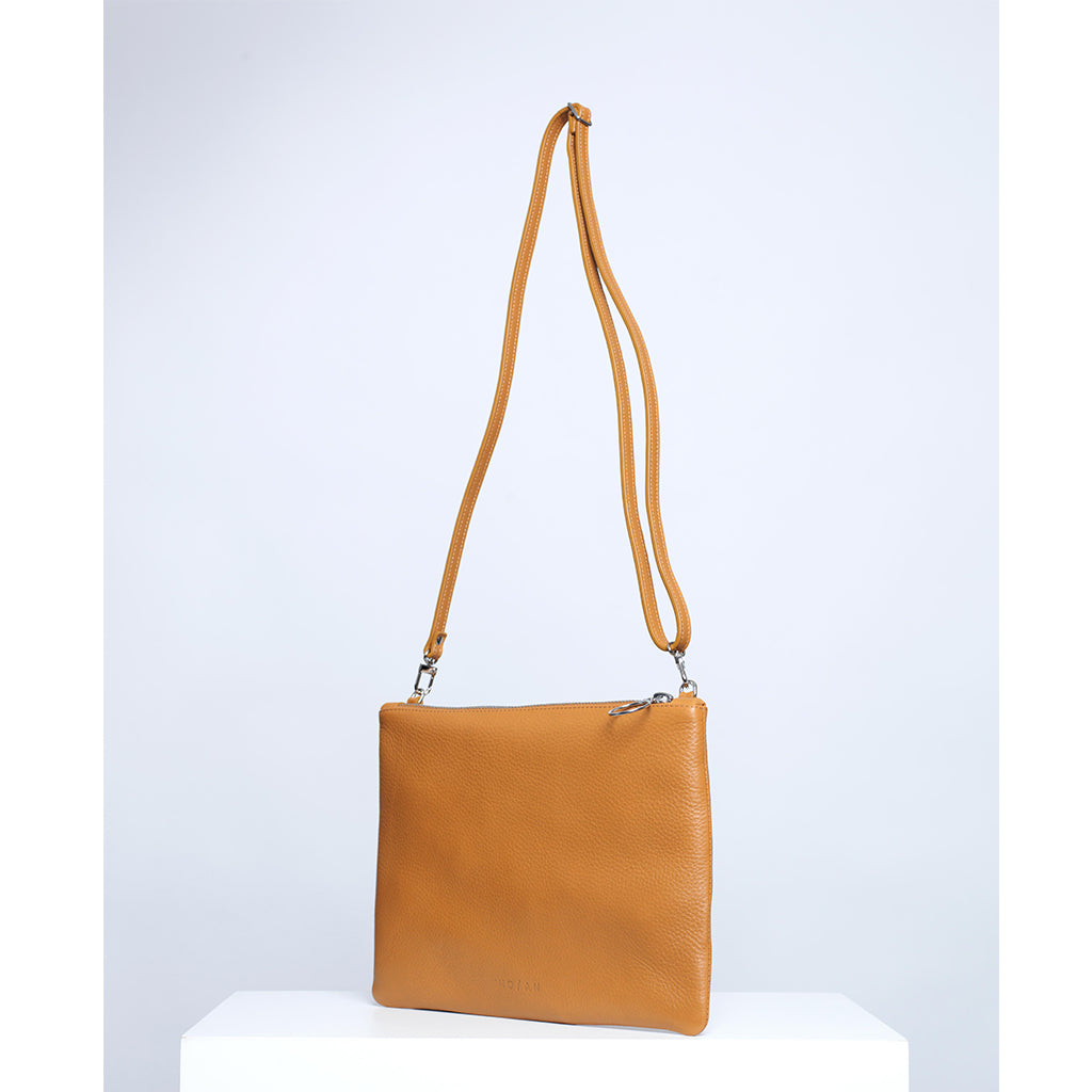 POCKET BAG, TAN - NO / AN