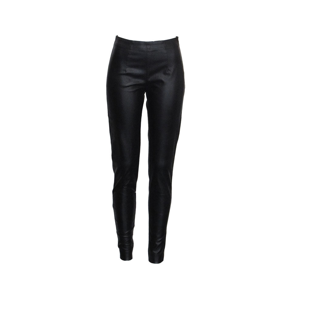FAUX LEATHER PANTS - RUNDHOLZ BLACK LABEL