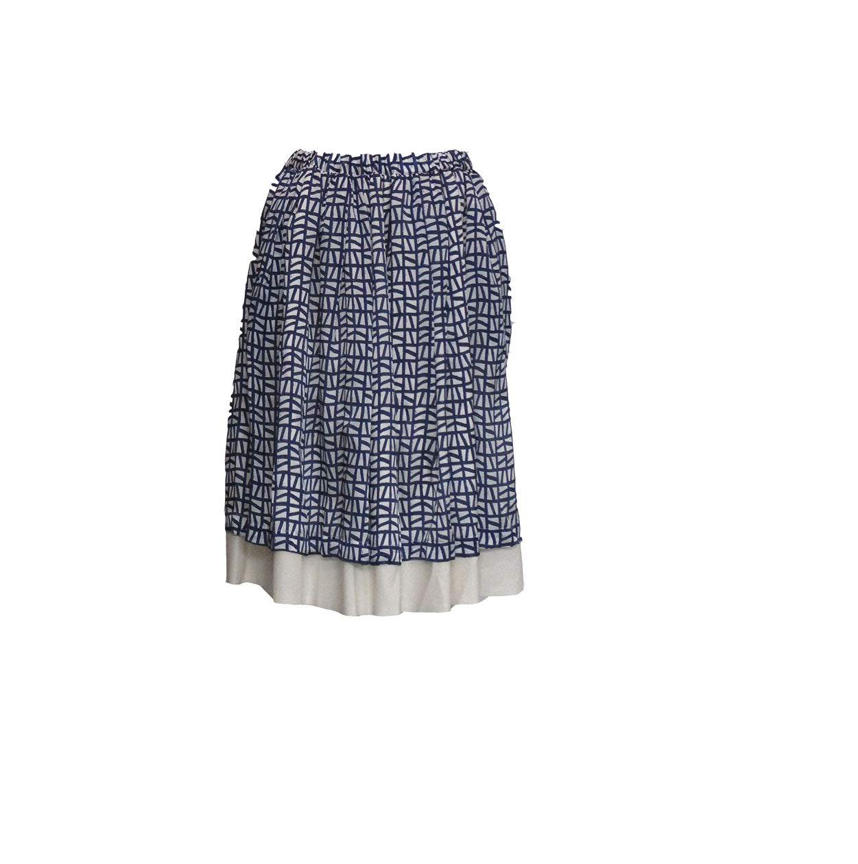LAYERED SKIRT - COMME des GARCONS