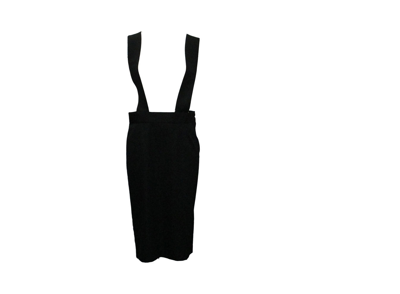 SKIRT WITH SHOULDER STRAPS - COMMEdes GARCONS