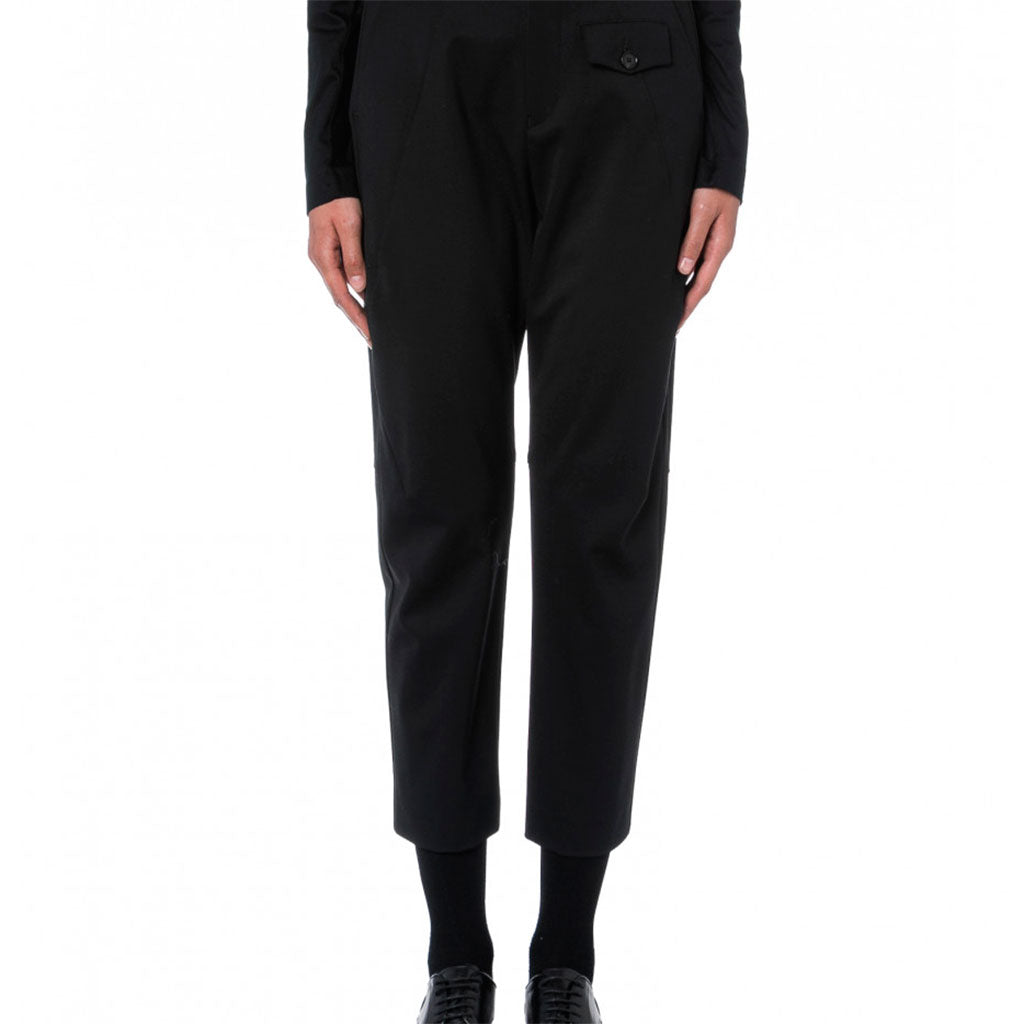 PANTS HYPER, BLACK - HIGH