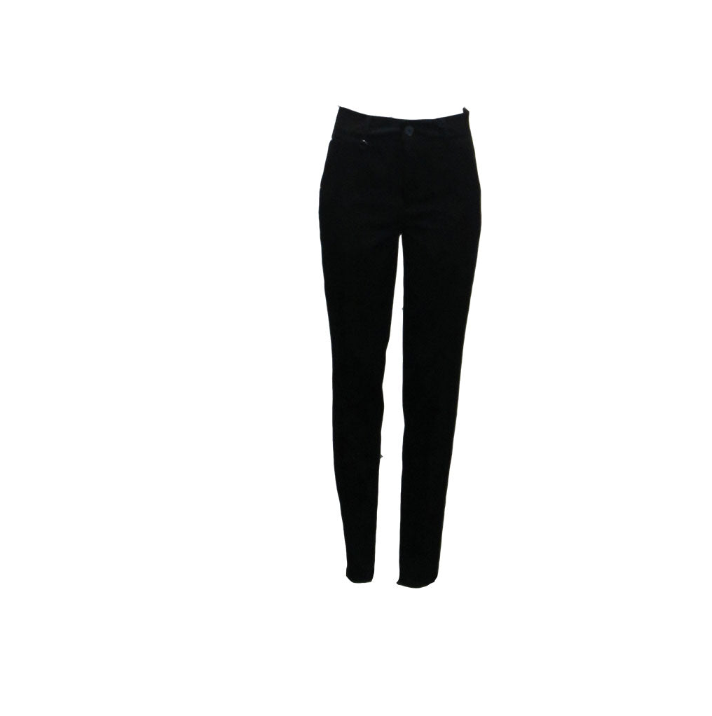 PANTS MARILYN, BLACK - HIGH
