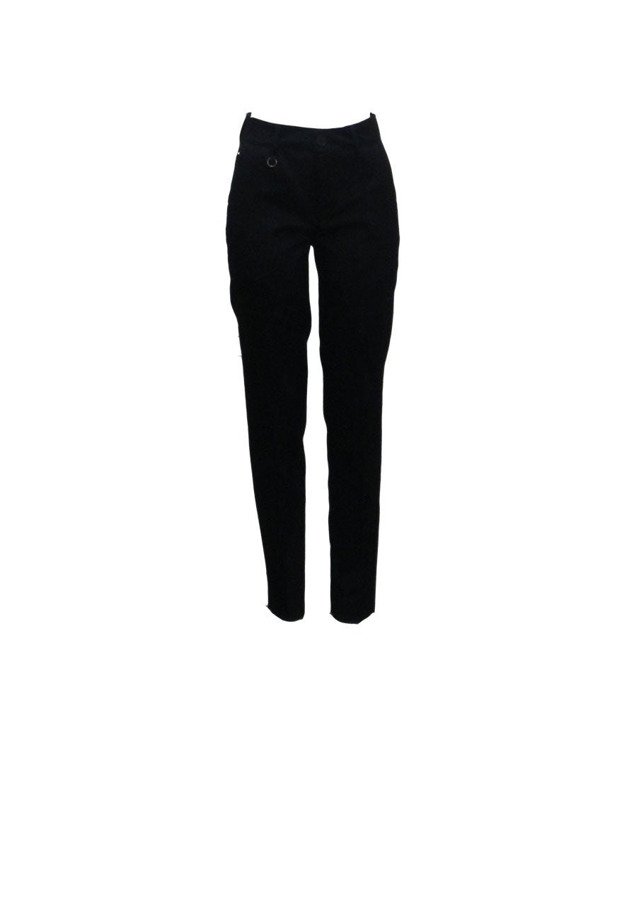 PANTS MARILYN, NAVY - HIGH
