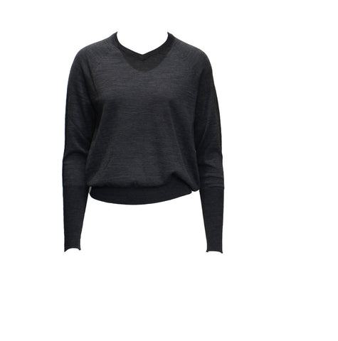 SWEATER REALITY, GREY - HIGH