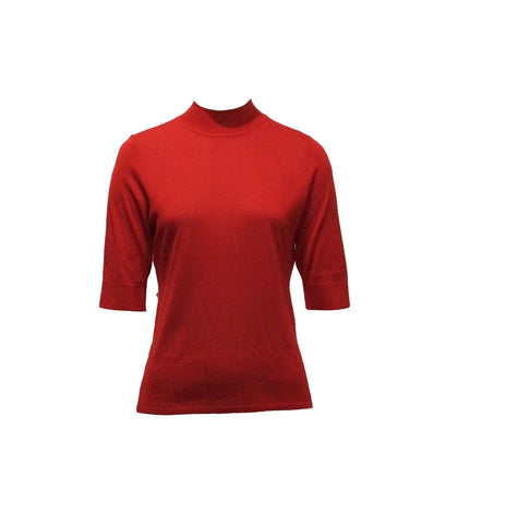 KNIT TOP, RED - JEANPAULKNOTT