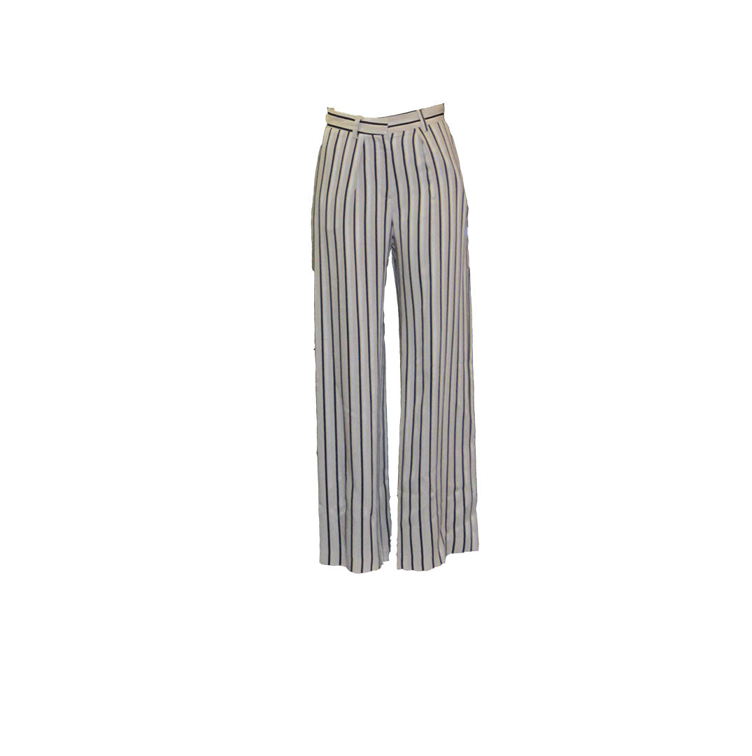 HECTOR OFF WHITE STRIPES PANTS - MARGAUX LONNBERG
