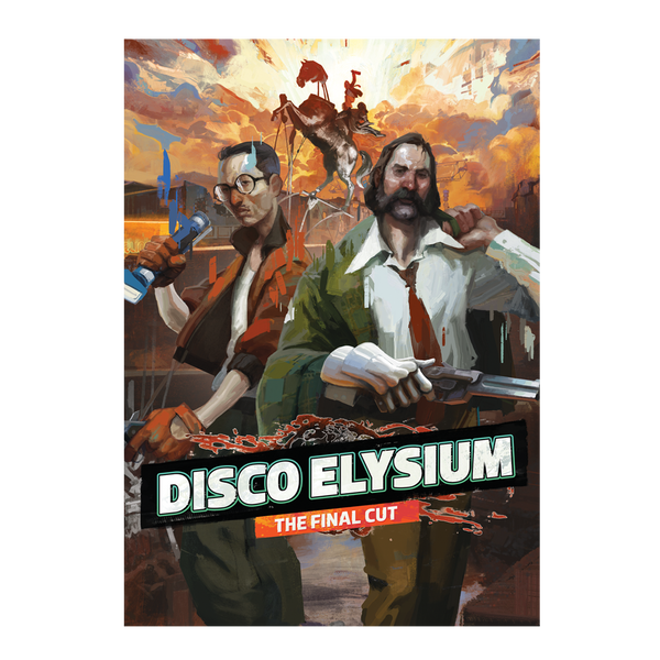 DISCO ELYSIUM THE FINAL CUT A2 POSTER