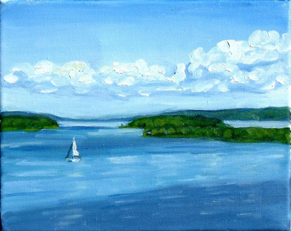 Bras d'Or Islands from Marble Mountain - Designer Craft Shop