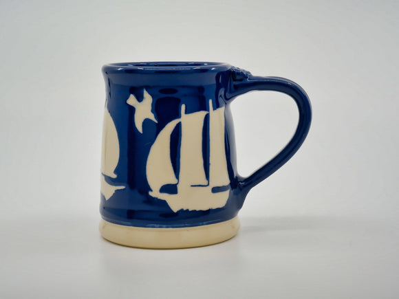 Ship Stencil Mug - Designer Craft Shop