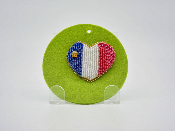 Acadian Heart Pin - Designer Craft Shop