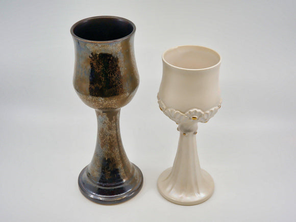 Bride & Groom Goblet Set - Designer Craft Shop
