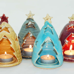 Tree Light Candle Holders
