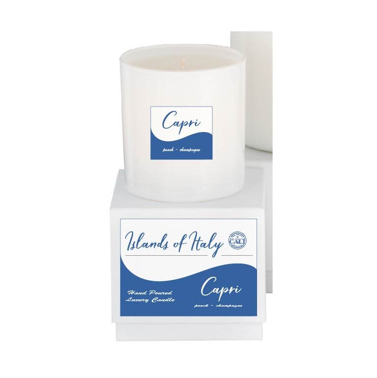 Islands of Italy 9oz Candle - Capri - Peach Champagne