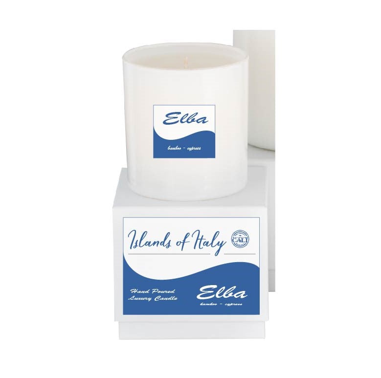 Islands of Italy 9oz Candle - Elba - Bamboo, Cypress